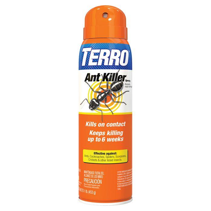 Terro Ant Killer Spray Kills Ants Instantly