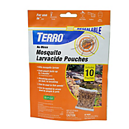 TERRO® No Mess Mosquito Larvacide Pouches