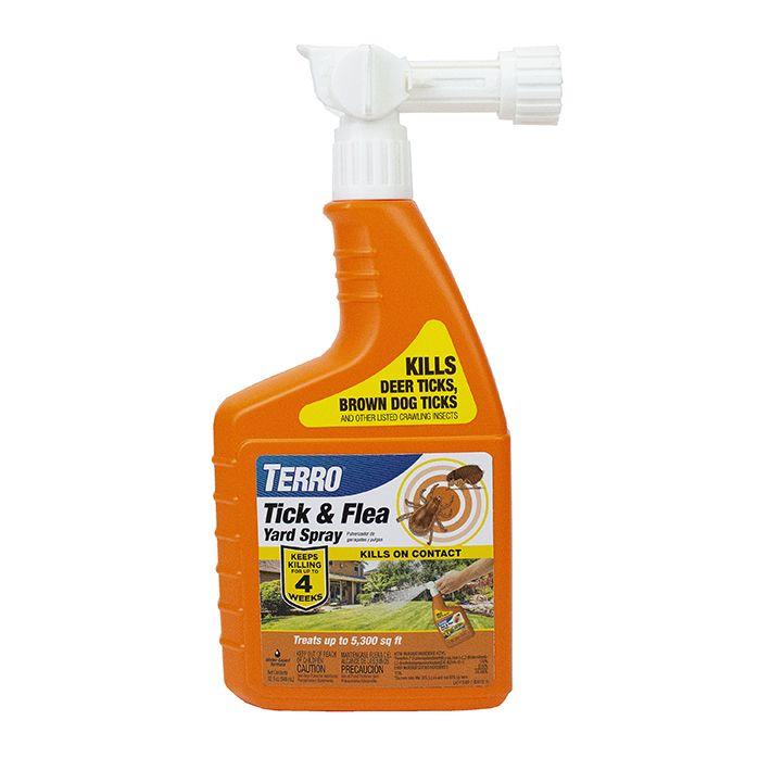 TERRO® Tick and Flea Yard Spray T1240   terro.com