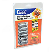 TERRO® Multi-Surface Roach Baits - 6 Bait Stations