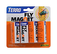 TERRO® Fly Magnet® Sticky Fly Paper Trap – 4pk