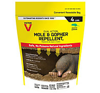 Victor® Mole & Gopher Repellent – 4 lb Bag