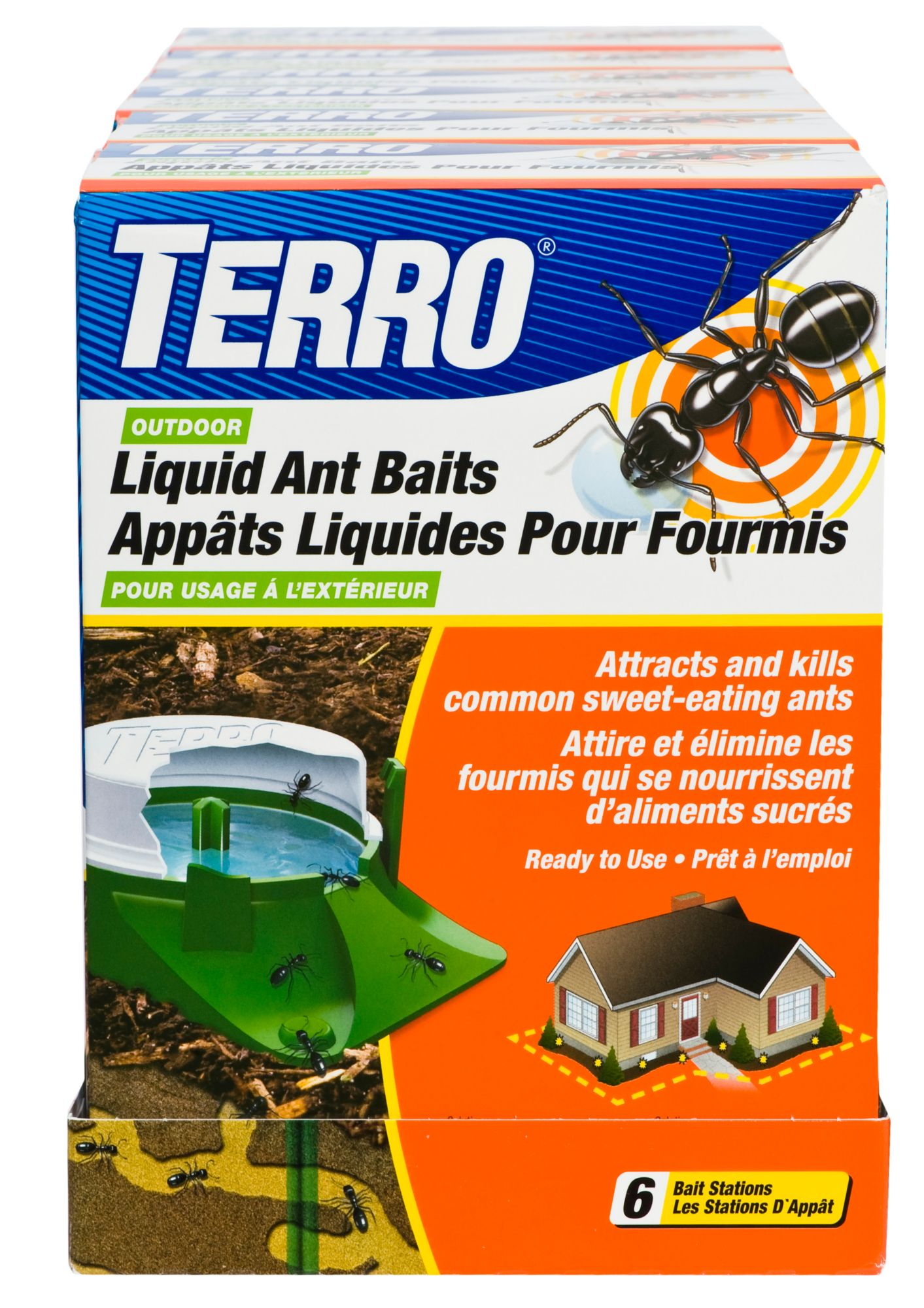 Outdoor Ant Control Terro Bait Stations